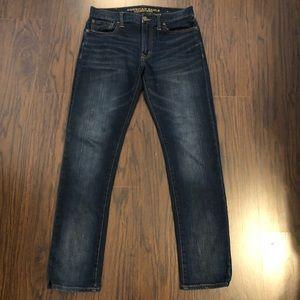 American Eagle jeans slim denim dark wash size 30